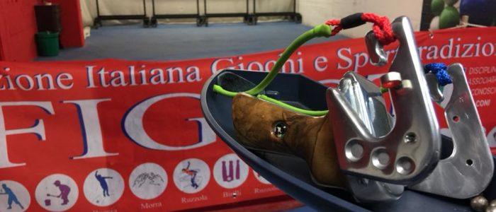 Тренировочный тир по стрельбе из рогатки в Италии