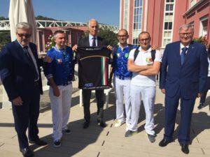 Организаторы Чемпионата мира по рогаткам