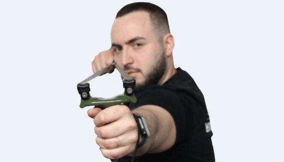Стреляем из рогатки