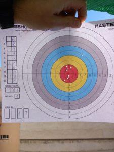 Мишень для стрельбы из рогатки турнира Masters